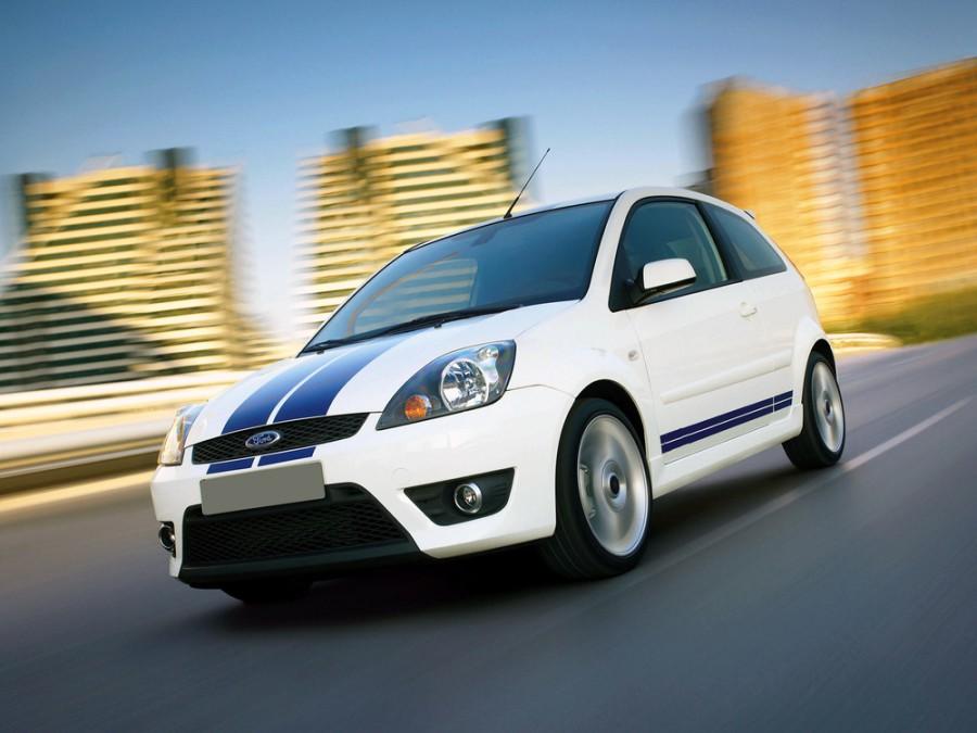Ford Fiesta ST хетчбэк 3-дв., 2005–2010, 5 поколение [рестайлинг] - отзывы, фото и характеристики на Car.ru
