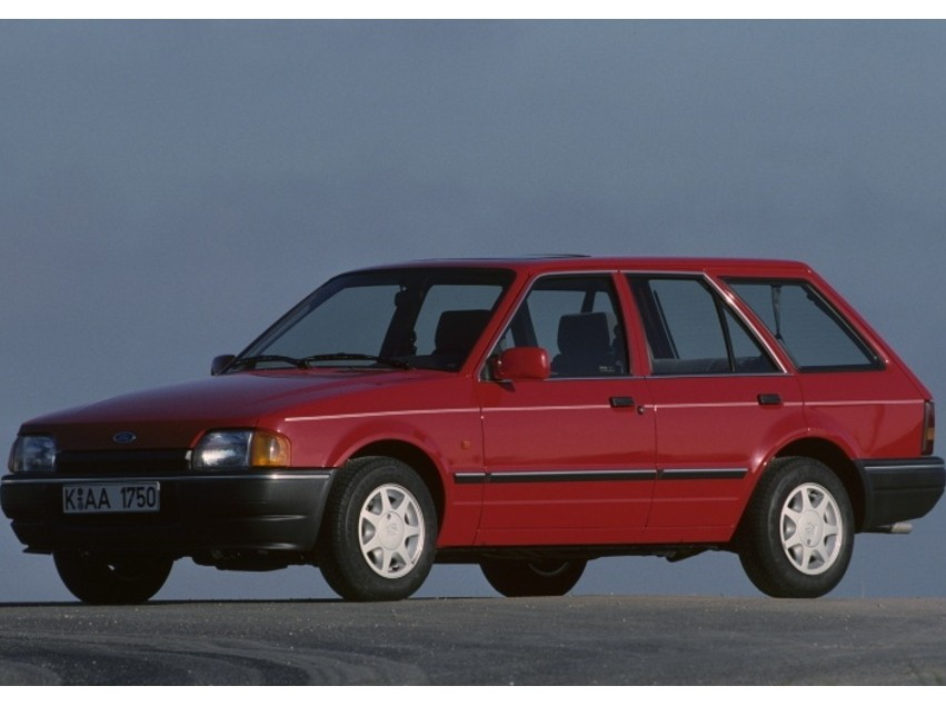 Ford Escort универсал 5-дв., 1986–1995, 4 поколение - отзывы, фото и характеристики на Car.ru