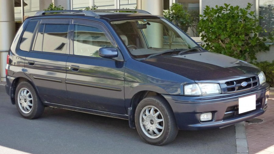 Форд фестива мини вагон - Ford Festiva Mini Wagon, 2002 ...