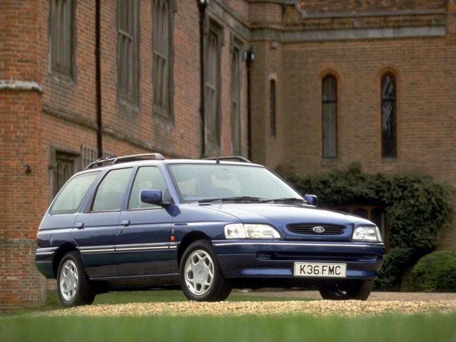 Ford Escort универсал, 1992–1995, 5 поколение [рестайлинг] - отзывы, фото и характеристики на Car.ru