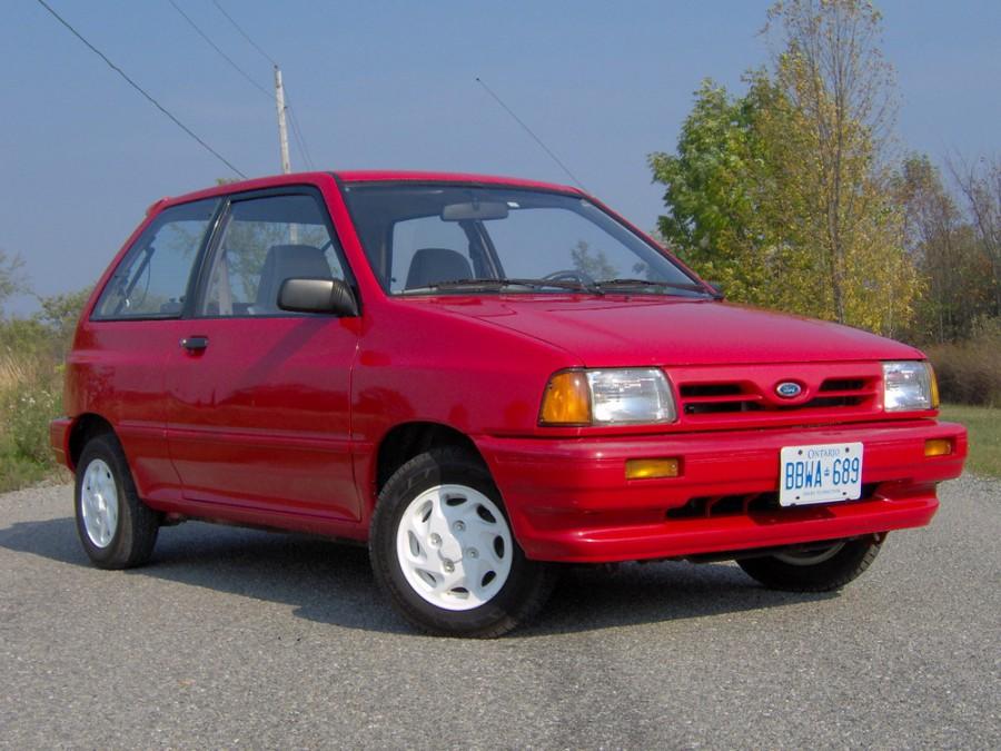 Ford Festiva хетчбэк, 1986–1993, 1 поколение - отзывы, фото и характеристики на Car.ru