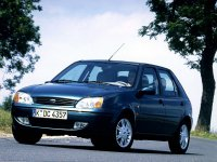 Ford Fiesta, 4 поколение [рестайлинг], Хетчбэк 5-дв., 1999–2006