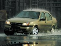 Ford Fiesta, 4 поколение [рестайлинг], Ikon седан, 1999–2006