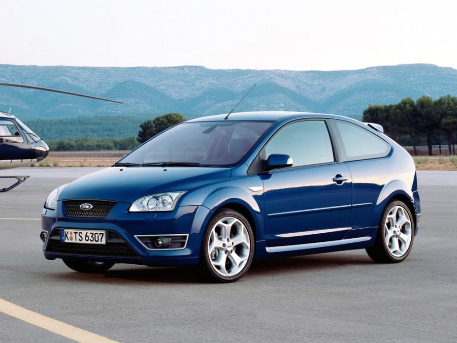 Ford Focus ST хетчбэк 3-дв., 2004–2008, 2 поколение - отзывы, фото и характеристики на Car.ru