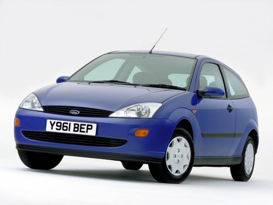 Ford Focus хетчбэк 3-дв., 1998–2004, 1 поколение - отзывы, фото и характеристики на Car.ru