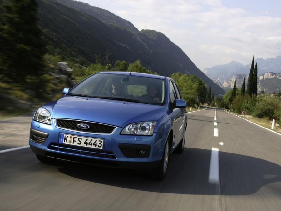 Ford Focus хетчбэк 5-дв., 2004–2008, 2 поколение - отзывы, фото и характеристики на Car.ru