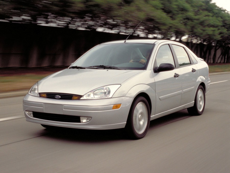 Ford Focus Sedan (USA) седан 4-дв., 1998–2004, 1 поколение - отзывы, фото и характеристики на Car.ru