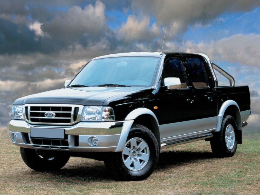 Ford Ranger Double Cab пикап 4-дв., 2003–2006, 2 поколение - отзывы, фото и характеристики на Car.ru