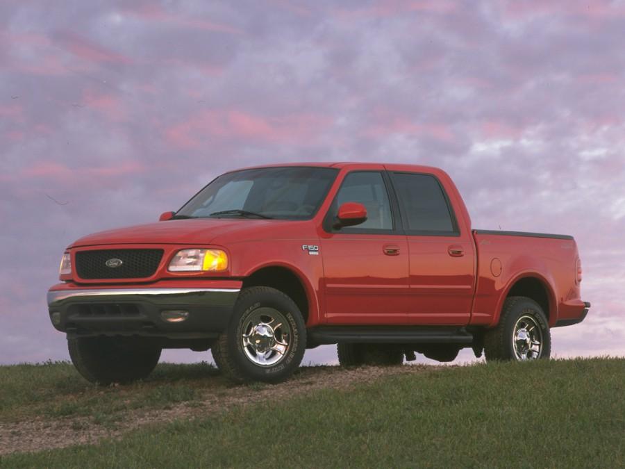 Ford F-Series F-150 SuperCrew пикап 4-дв., 1996–2003, 10 поколение - отзывы, фото и характеристики на Car.ru