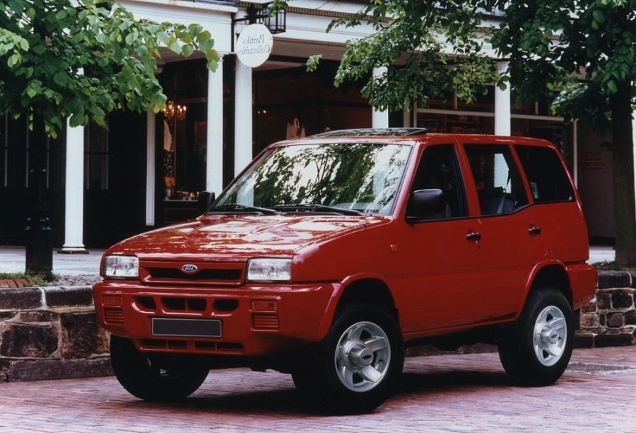 Ford Maverick внедорожник 5-дв., 1993–1996, 1 поколение - отзывы, фото и характеристики на Car.ru