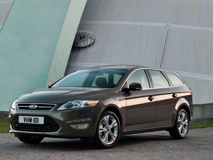 Ford Mondeo универсал, 2010–2016, 4 поколение [рестайлинг] - отзывы, фото и характеристики на Car.ru
