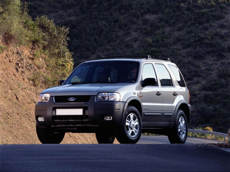 Ford Maverick внедорожник, 2000–2004, 2 поколение - отзывы, фото и характеристики на Car.ru
