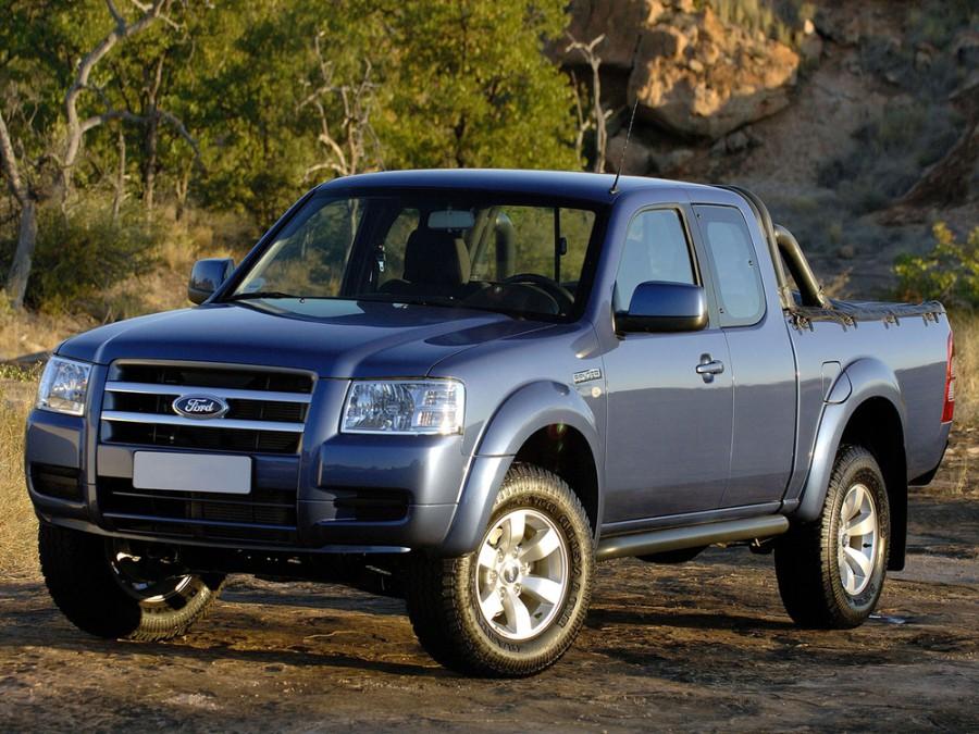 Ford Ranger RapCab пикап 2-дв., 2007–2009, 3 поколение - отзывы, фото и характеристики на Car.ru