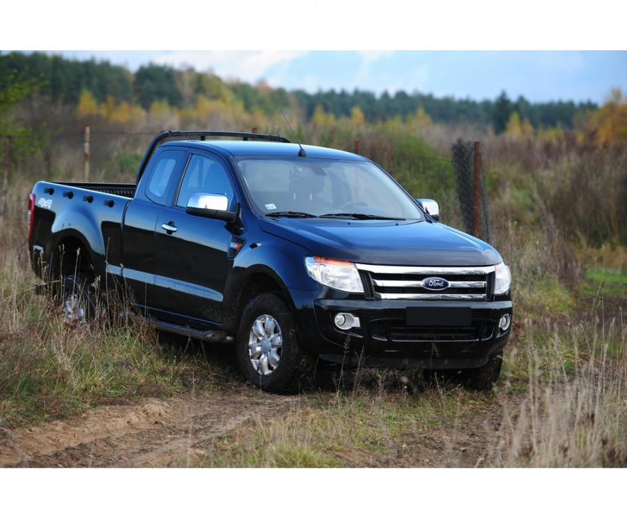 Ford Ranger Rap Cab пикап 2-дв., 2012–2016, 5 поколение - отзывы, фото и характеристики на Car.ru