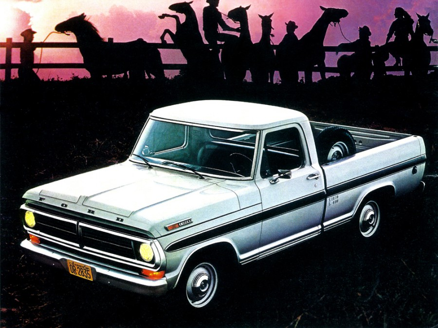 Ford F-Series F-100 RegularCab пикап 2-дв., 7 поколение - отзывы, фото и характеристики на Car.ru