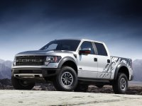 Ford F-Series, 12 поколение, F-150 svt raptor supercrew пикап 4-дв., 2009–2016