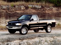 Ford F-Series, 10 поколение, F-150 regularcab пикап 2-дв., 1996–2003