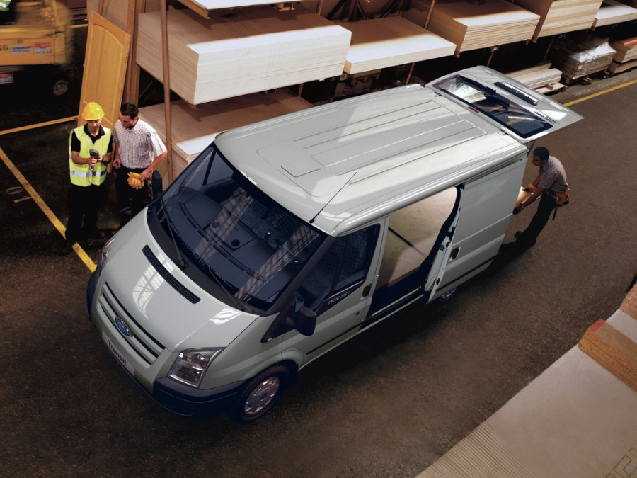 Ford Transit Van фургон 5-дв., 2006–2015, 6 поколение - отзывы, фото и характеристики на Car.ru