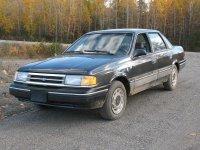 Ford Tempo, 2 поколение, Седан, 1987–1994