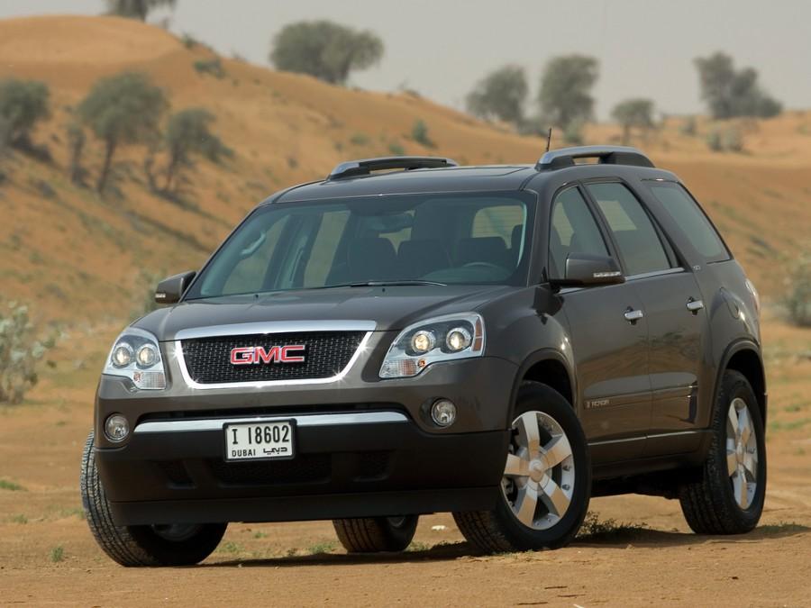 Gmc Acadia кроссовер, 2007–2014, 1 поколение - отзывы, фото и характеристики на Car.ru