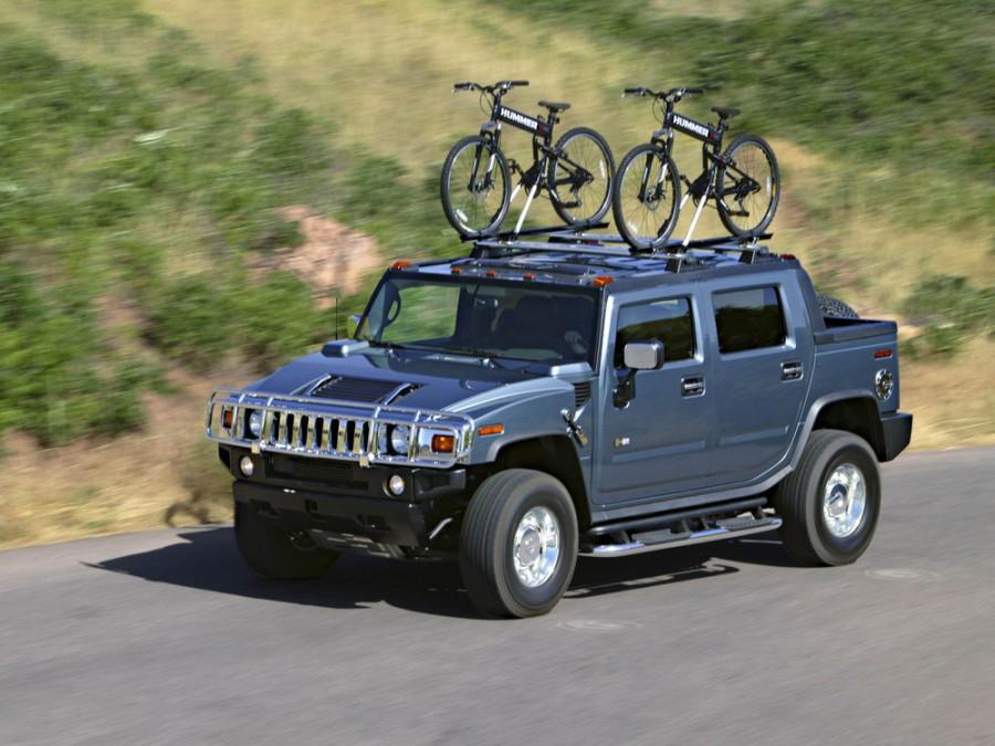 Hummer H2 SUT пикап, 2002–2009, 1 поколение - отзывы, фото и характеристики на Car.ru