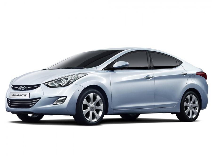 Hyundai Avante, Ангарск