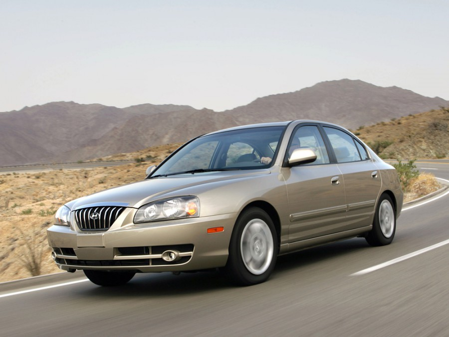 Hyundai Avante седан, 2003–2006, XD [рестайлинг] - отзывы, фото и характеристики на Car.ru