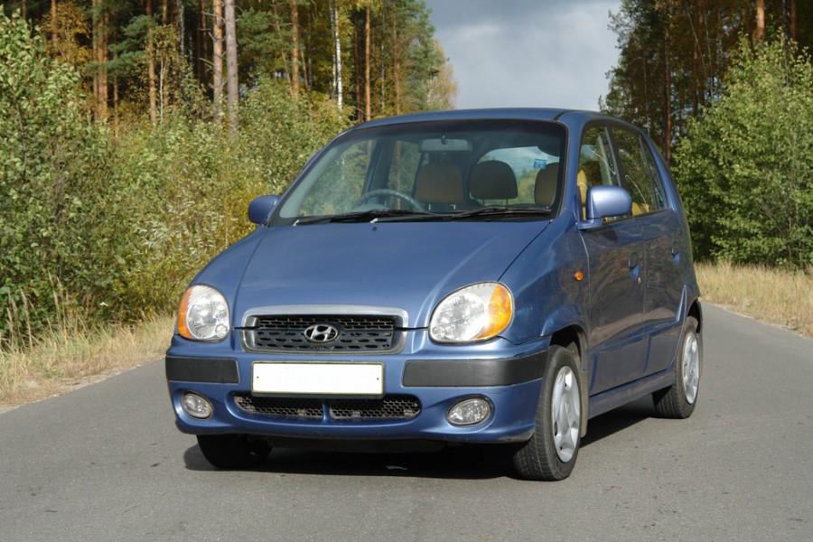 Hyundai Amica хетчбэк, 2001–2003, 1 поколение [рестайлинг] - отзывы, фото и характеристики на Car.ru