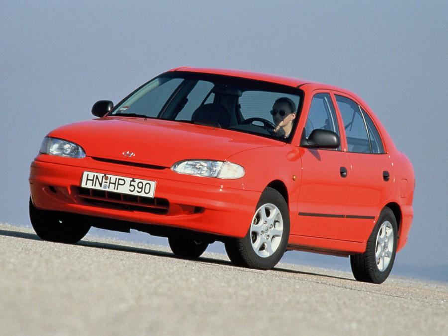 Hyundai Accent хетчбэк 5-дв., 1994–1997, X3 - отзывы, фото и характеристики на Car.ru