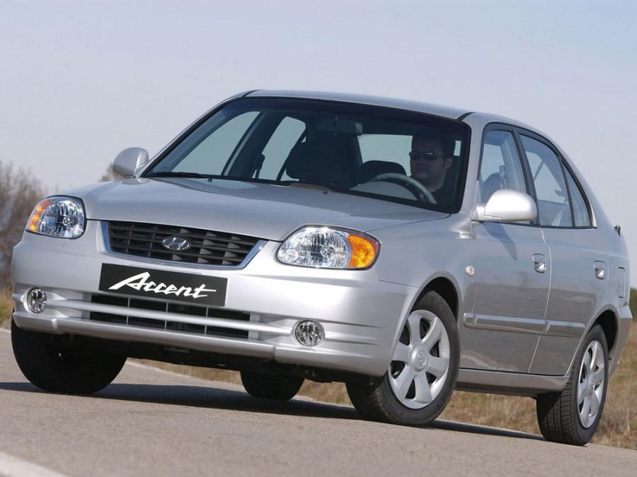 Hyundai Accent хетчбэк 5-дв., 2002–2006, LC [рестайлинг] - отзывы, фото и характеристики на Car.ru