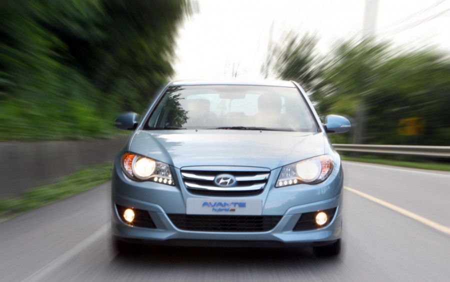 Hyundai Avante Hybrid седан 4-дв., 2006–2010, HD - отзывы, фото и характеристики на Car.ru