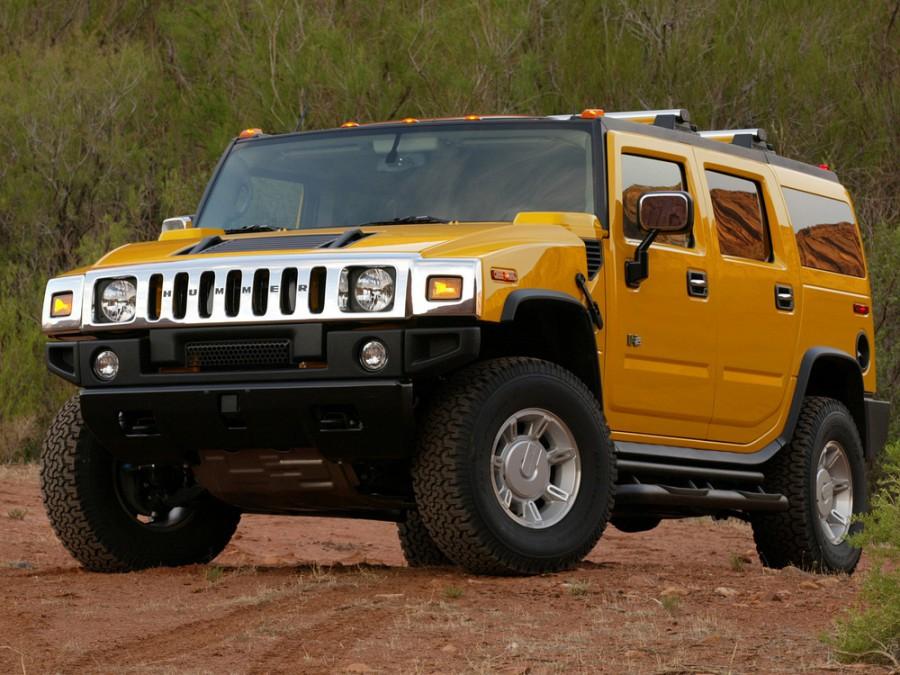Hummer H2 внедорожник, 2002–2009, 1 поколение - отзывы, фото и характеристики на Car.ru