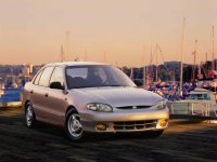 Hyundai Accent, X3 [рестайлинг], Седан, 1997–1999