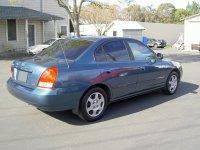 Hyundai Avante, XD, Седан, 2000–2003