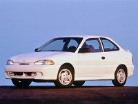 Hyundai Accent, X3, Хетчбэк 3-дв., 1994–1997