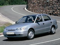 Hyundai Accent, X3, Седан, 1994–1997