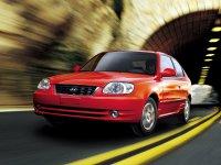 Hyundai Accent, LC [рестайлинг], Хетчбэк 3-дв., 2002–2006