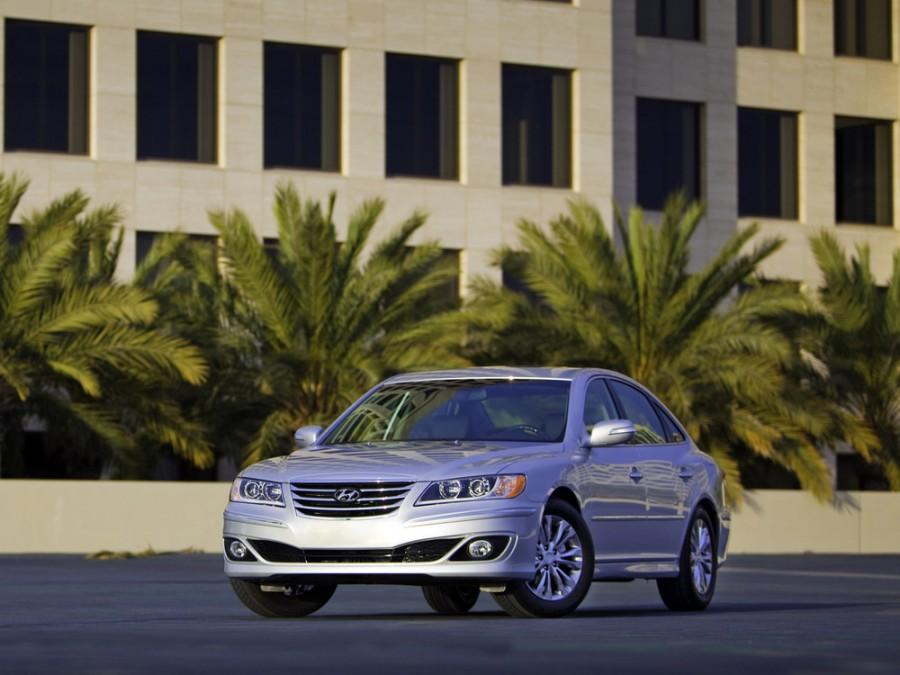 Hyundai Grandeur седан, 2010–2011, TG [рестайлинг] - отзывы, фото и характеристики на Car.ru