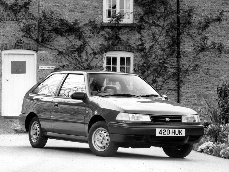 Hyundai Excel хетчбэк 3-дв., 1991–1994, X2 [рестайлинг] - отзывы, фото и характеристики на Car.ru