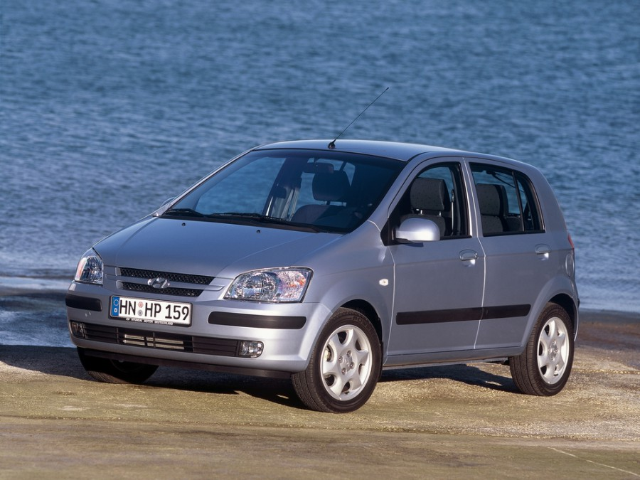 Hyundai Click хетчбэк 5-дв., 2002–2005, 1 поколение - отзывы, фото и характеристики на Car.ru