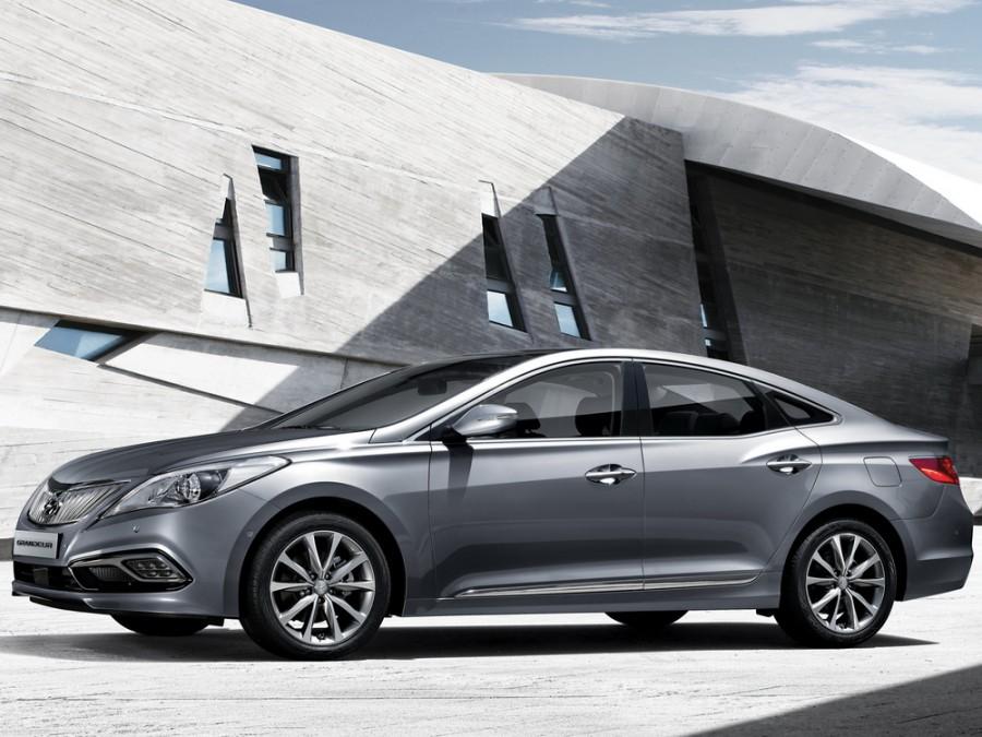 Hyundai Grandeur седан, HG [рестайлинг] - отзывы, фото и характеристики на Car.ru