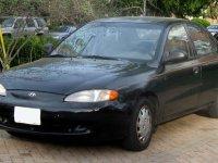 Hyundai Elantra, J2, Седан, 1995–1998