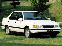 Hyundai Excel, X2, Седан, 1989–1991