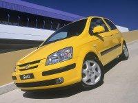 Hyundai Getz, 1 поколение, Хетчбэк 3-дв., 2002–2005