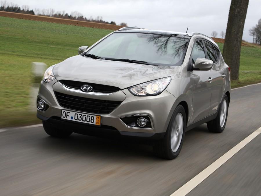 Hyundai ix35 кроссовер 5-дв., 2010–2013, 1 поколение - отзывы, фото и характеристики на Car.ru