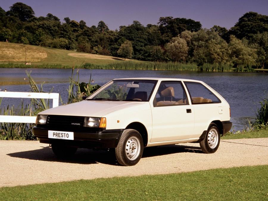 Hyundai Presto хетчбэк, 1985–1989, X1 - отзывы, фото и характеристики на Car.ru
