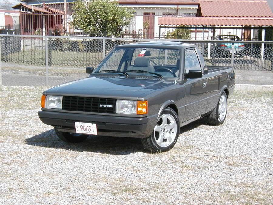Hyundai Pony пикап, 1982–1990, 2 поколение - отзывы, фото и характеристики на Car.ru
