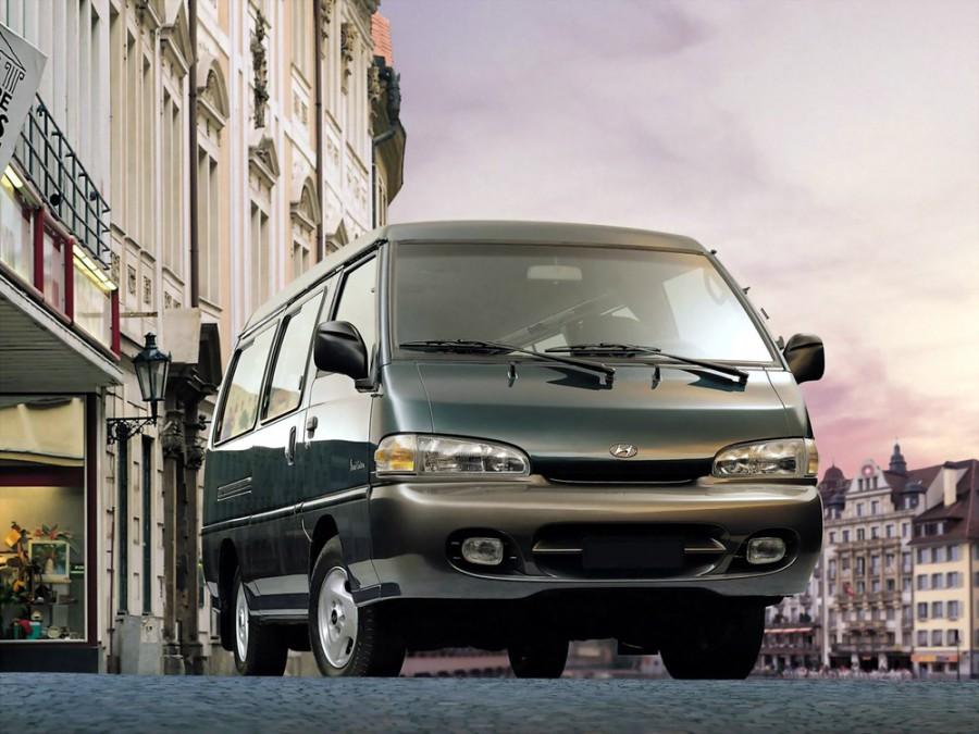 Hyundai Porter микроавтобус, 2 поколение [рестайлинг] - отзывы, фото и характеристики на Car.ru