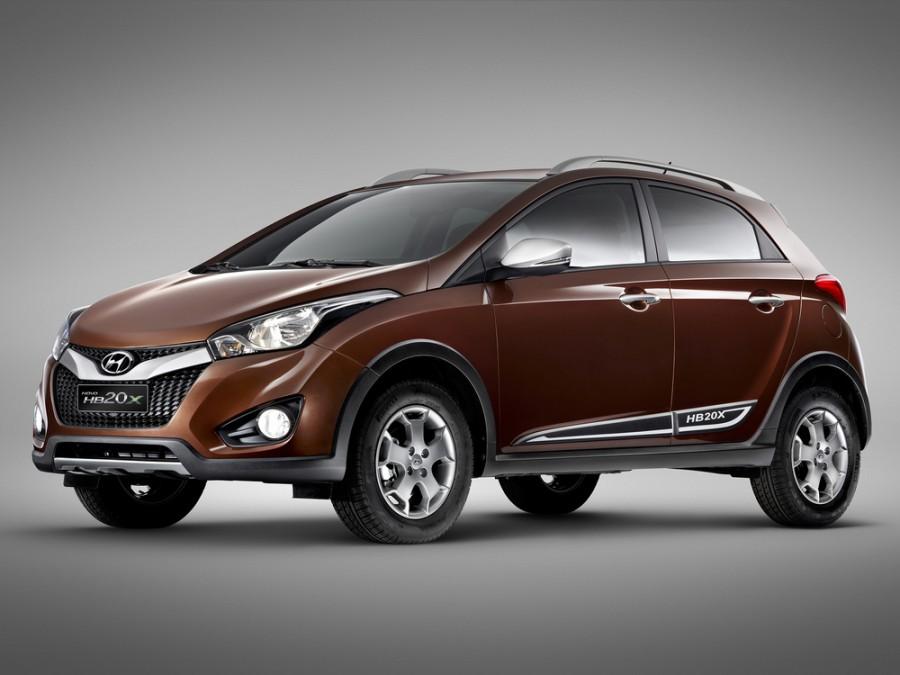 Hyundai HB20 X кроссовер, 2012–2016, 1 поколение - отзывы, фото и характеристики на Car.ru