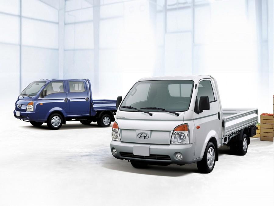 Hyundai Porter Single Cab борт 2-дв., 2004–2011, 4 поколение - отзывы, фото и характеристики на Car.ru